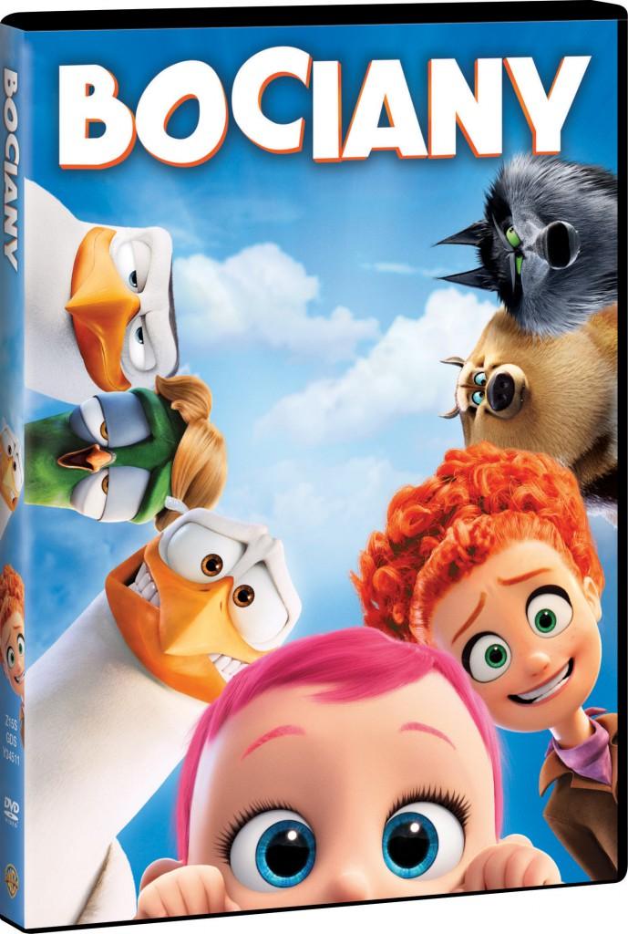 BOCIANY DVD 3D